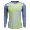 adidas adiPro 18 Youth Goalkeeper Jersey - Light Grey/Solar Yellow CF6174