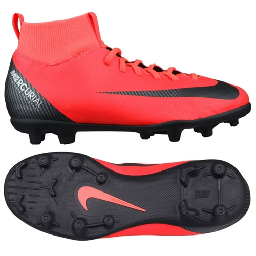 super popular e4aa7 5e8f6 Nike Junior Mercurial Superfly Club VI CR7 MG - Bright Crimson/Black/Chrome
