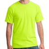 Gildan 5000 Cotton T-Shirt - Neon Yellow G5000NY
