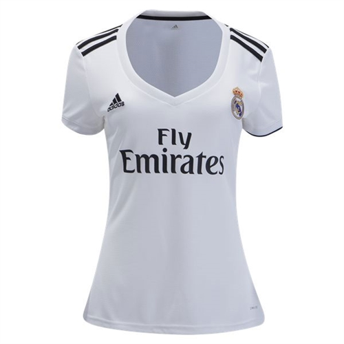 info for 21f9c ea018 adidas Real Madrid Women's Home Jersey 2018-2019