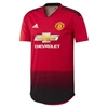 adidas Manchester United Authentic Home Jersey 2018-2019 CG0037