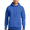 Core Fleece Pullover Hooded Sweatshirt - Blue PC78HBlu