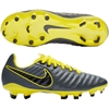 Nike Junior Tiempo Legend VII Elite FG - Dark Grey/Yellow AH7258-070