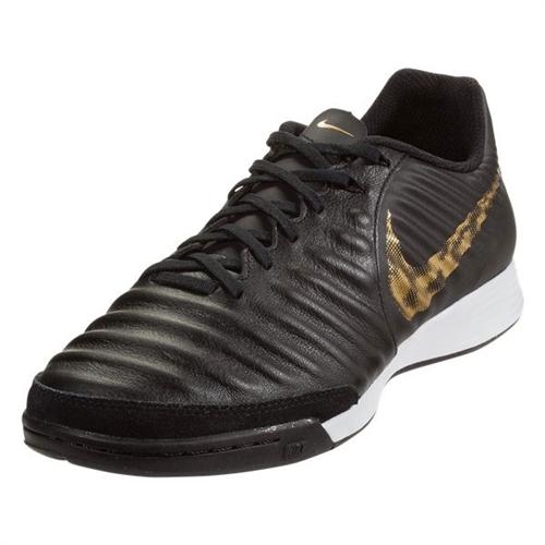 Nike Tiempo LegendX VII Academy IC - Black Metallic Vivid Gold Indoor  AH7244-077 cf0659f24dc