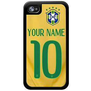 Brasil Custom Player Phone Cases - iPhone (All Models) iph-brs-plyr