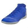 Nike Mercurial SuperflyX VI Academy IC - Racer Blue/Metallic Silver Indoor AH7369-400