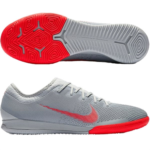 differently 5c7ce d6735 Nike VaporX 12 Pro IC - Wolf Grey/Bright Crimson Indoor