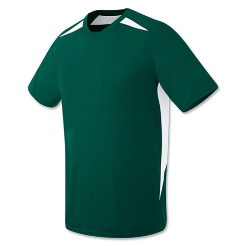 High Five Hawk Jersey - Dark Green Hawk5DkGrn