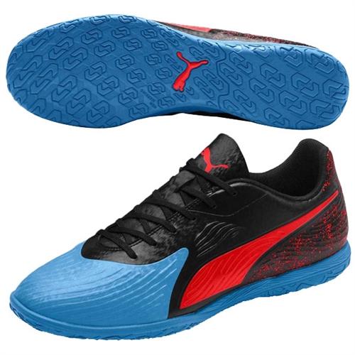 814e8aa6a8 Puma One 19.4 IT - Blue Azur/Red Blast/Black Indoor