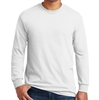 Gildan 5400 Cotton Long Sleeve T-Shirt - White G5400Whi