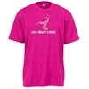Badger Kick Breast Cancer Tee - Hot Pink 4120HP