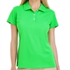 adidas Women's Basic Polo - Solar Lime A131SL