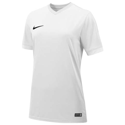 promo code ec509 14f8e Nike Womens SS Striker IV Jersey - White 725950Whi