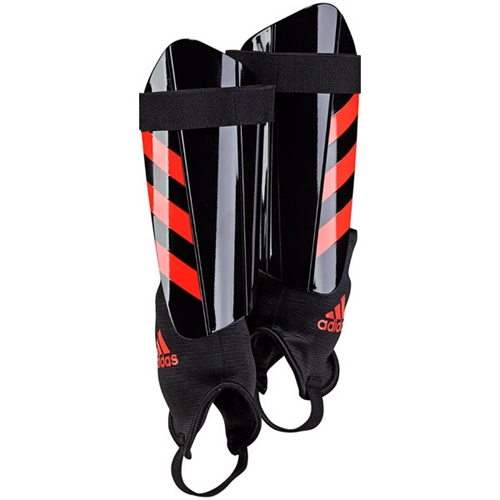 adidas Ghost Club Shinguards - Black/Red BS4179