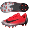 Nike Junior Mercurial Vapor Academy 12 CR7 MG - Bright Crimson/Black/Chrome AJ3095-600
