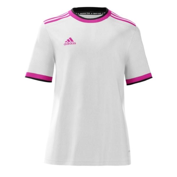 adidas mi Competition 21 Jersey - White/Pink/Black