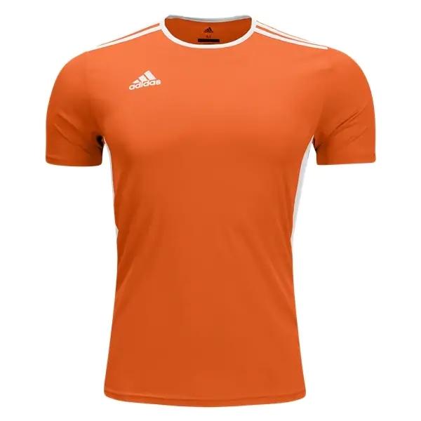 adidas Youth Entrada 18 Jersey - Orange/White CF1043 ...