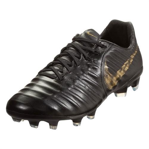 a6fb8e9852ce81 Nike Tiempo Legend VII Pro FG - Black Metallic Vivid Gold AH7241-077