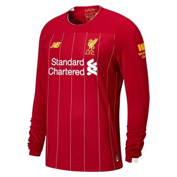 New Balance Liverpool Long Sleeve Home Jersey 2019-2020 MT930005