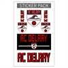 AC Delray Sticker Pack ACD-STICKER