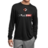Elite SA Long Sleeve Performance Shirt - Black Elite-LPTee