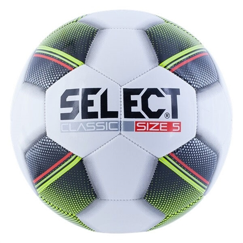 Select Classic Soccer Ball - White 0388488786