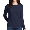 Gildan 5400L Cotton Women's Long Sleeve T-Shirt - Navy 5400LNav