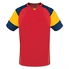 High Five Mundo Jersey - Red/Gold High5MunRedGld
