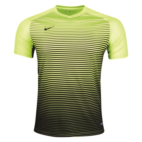 Nike Youth Precision IV Jersey - Volt/Black 886830-702