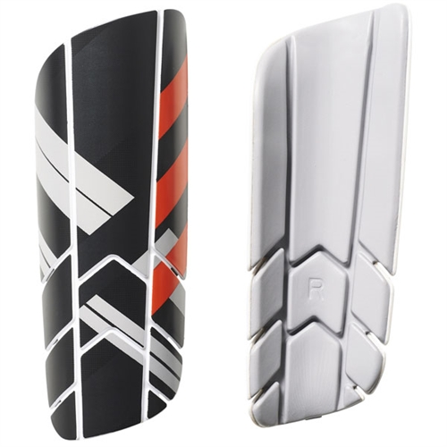 adidas Ghost Pro Shin Guard - Black/Dark Grey - NOCSAE Approved BS4157