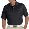adidas Men's Basic Short Sleeve Polo - Black A130