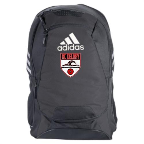 937674305d AC Delray adidas Stadium II Team Backpack - Black - AuthenticSoccer.com