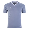 adidas Youth Tiro 17 Jersey - Silver/White BS4235
