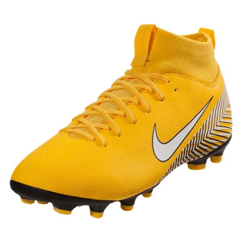 Nike Junior Mercurial SuperFly VI Academy NJR MG - Amarillo/White AO2895-710