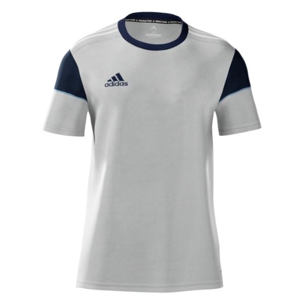 adidas Women's mi Squadra 17 Jersey - Grey/Navy