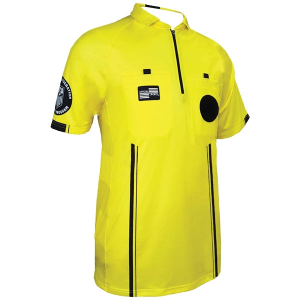 Official Sports USSF Pro Referee Jersey - Yellow 9070