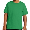 Gildan 5000B Youth Cotton T-Shirt - Kelly Green  5000B-KllyGrn