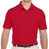 adidas Men's 3-Stripes Shoulder Polo - Red A233-Red