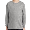 Gildan 5400 Cotton Youth Long Sleeve T-Shirt - Sports Grey 5400B-SGRY