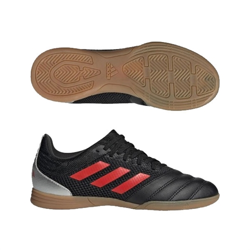 adidas Copa 19.3 Jr IN - Black/Solar Red Indoor F35448