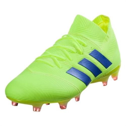 c72d3d0f548 adidas Nemeziz 18.1 FG - Solar Yellow Football Blue BB9426