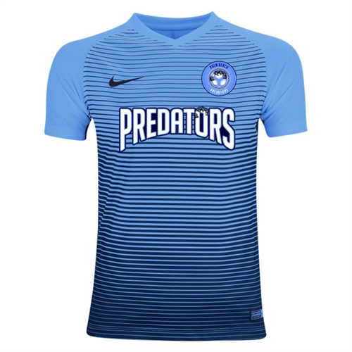 new product 2c490 3049c PBG Predators Nike Youth Precision IV Jersey - University Blue/College  Navy/White