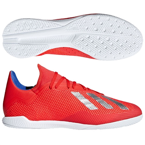 the latest 94f4b 6d743 adidas X Tango 18.3 IN - Active Red/Silver Indoor