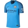 Nike Manchester City Authentic Home Jersey 2018-2019 894418-489