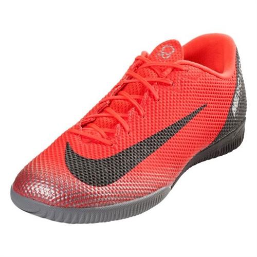 50730486f85e Nike Vapor 12 Academy CR7 IC - Bright Crimson/Black Indoor AJ3731-600