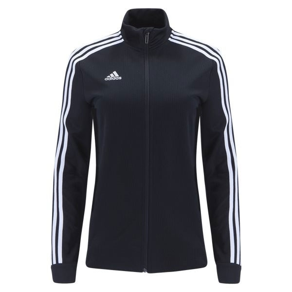 adidas Women's Tiro 19 Training Jacket - Black/White D95929