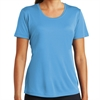 Sport Tek Women's Performance Shirt - Light Blue LST350-LB