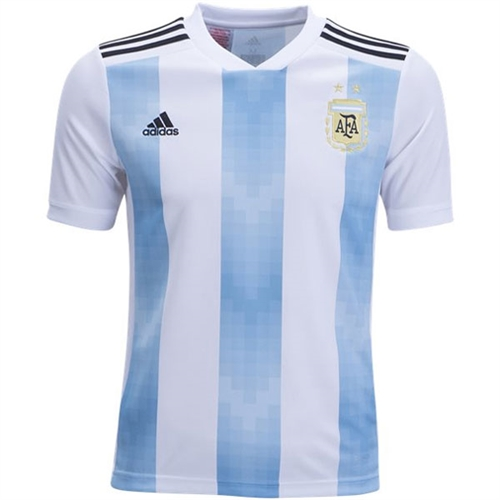 351cd0906df adidas Argentina Youth Home Jersey 2018 - BQ9288 - AuthenticSoccer.com
