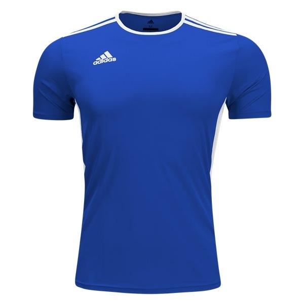 adidas Youth Entrada 18 Jersey - Royal Blue/White - CF1049 ...
