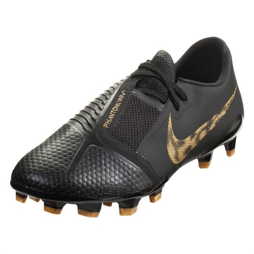 Nike Phantom Venom Pro FG - Black/Metallic Vivid Gold AO8738-077